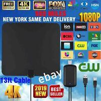 HD 1080P 980 Miles Range Indoor Digital TV Antenna Amplified HDTV Skywire Antena