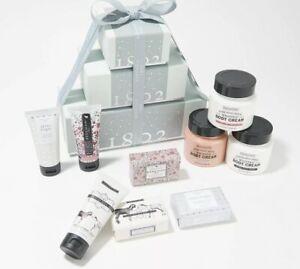 Beekman  9-Piece Holiday Goat Milk Bath & Body Gift Box SHINE BRIGHT Body Cream