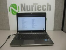 "HP ProBook 4430s 14"" i3 2.1GHz 4GB/160GB Webcam Linux ""NO BATTERY"" Laptop +AC"