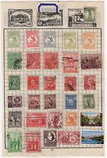 Australia Stamps to Album page