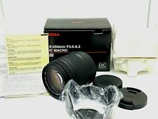 Sigma zoom 18-250mm F/3.5-6.3 DC Macro OS HSM Lens for Sony [Near Mint unused]