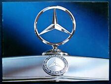 Prospekt brochure 1976 Mercedes Programm (USA)