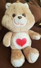 "Vintage 1983 Tender Heart Bear 13"" Original KennerCare Bear Plush"