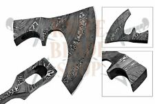 DAMASCUS Steel BLADE TOMAHAWK,AXE,HATCHET, BLANK AXE HEAD