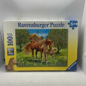 Ravensburger Horses In The Field 100 Piece XXL Children's Puzzle