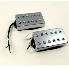 Bare Knuckle Aftermath Humbucker Calibrated Covered Set 53mm Short Leg Chrome