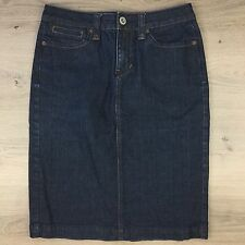 Jag Denim Womens Denim Straight Pencil Skirt Size 10 Actual W29 L22 (G12)