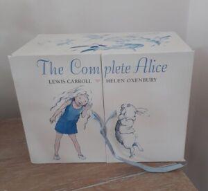 The Complete Alice in Wonderland 22 Book Set Lewis Carroll - Helen oxenbury