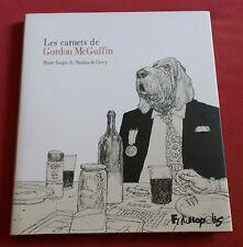 LES CARNETS DE GORDON MCGUFFIN BD EO NICOLAS DE CRECY
