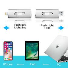 USB 3.0 32GB Flash Drive OTG Thumb Drive Memory Stick Pen Drive For iPhone 7 8 X