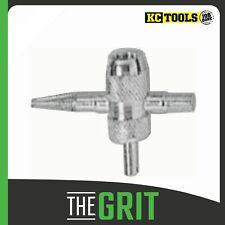 KC Tools 4 Way Tyre Valve Tool 10450