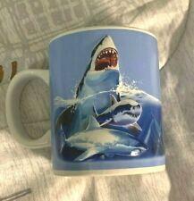 Las Vegas 3D Sharks Coffee Mug Portruded Exclusive for Mandalay bay graphics