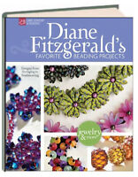 Diane Fitzerald's Favorite Beading Projects by Diane Fitzgerald (2012,Hardcover)