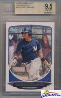 2013 Bowman Prospects Gary Sanchez ROOKIE BGS 9.5 GEM MINT Yankees!
