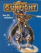 Williams pinball 1982  = COSMIC GUNFIGHT =  sales / promo flyer