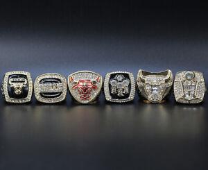 All Chicago Bulls Championship Ring Michael Jordan Championship Rings with Box
