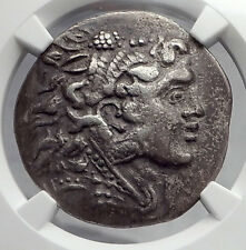 ALEXANDER III the GREAT 120BC Odessos Tetradrachm Silver Greek Coin NGC i59875