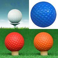 10x 4Colors PU Elastic Foam Golf Sponge Balls Practice-Training Indoor Outdoor
