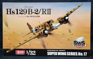 Zoukei-Mura #17 1/32 HENSCHEL Hs 129 B-2/RIII Model Kit!