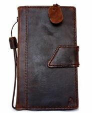 Genuine Real Leather Case for Samsung Galaxy Note 3 Book Wallet Magnetic Closure