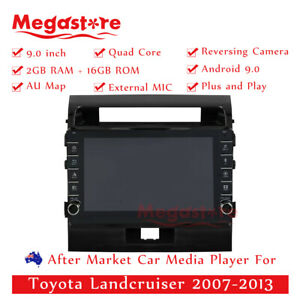 """9"""" Quad Core Android 10.1 Car non dvd Media Player GPS For Toyota Landcruiser"""