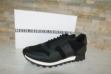 orig Bikkembergs Sneakers Gr 44 Sportschuhe Schuhe schwarz neu ehem UVP 198 €
