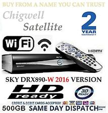 SKY DRX890W WIRELESS 500GB SKY PLUS HD BOX ON DEMAND 3D WIFI MODEL