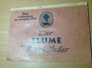 Watchmakers Catalogue 1955 Der Flume Watch Parts  2. Nachdruck der Ausgabe 1947