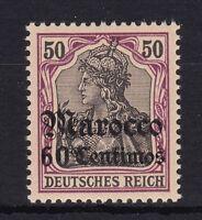 DR Marokko Nr. 28 ** postfrisch Deutsche Auslandspostämter Michel 70,00 € MNH