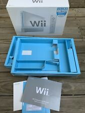 Nintendo Wii Sports White Console Box Only With Trays and manuals