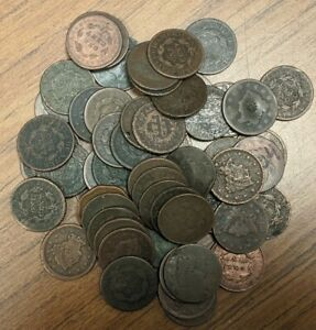 ☆Large Cent US Penny Cull Braided Coronet☆ Draped Bust Classic Estate 1793-1857☆