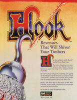 Hook Pinball Machine FLYER Original 1992 NOS Data East Peter Pan Pirates Capt