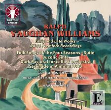Ralph Vaughan Williams Early and Late Works World Premiere Recordings - CDLX7289