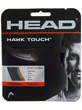 NEW Head Hawk TOUCH 17 G Tennis String 40 foot Pack Set Monofilament Anthracite