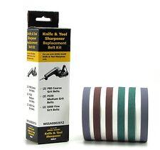 Work Sharp Knife and Tool Sharpener Replacement Belt Kit (WSKTS and WSKTS-K