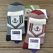 3 Pairs lots Men Warm Winter GIFT sale NEW fashion twill cotton Socks