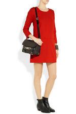 J.CREW $198 Jules Wool Twill Front Pocket Lined Shift Dress Size 4