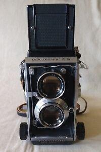 Mamiya C3 TLR with 80mm Lens