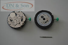 MIYOTA OS21 QUARTZ Watch Movement with stem date at 6' oclock NEW SPECIAL OFFER