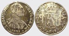 PERU' -AG/ 2 REALES 1791 P.R.