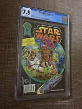 1987 STAR WARS Blackthorne 3-D Series # 30 CGC 7.5 WHITE PAGES