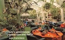 LEHR'S Greenhouse Restaurant & Florist San Francisco, CA Postcard ca 1970s