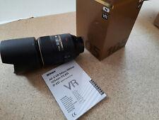 Nikon AF-S VR Micro-Nikkor 105mm f/2, 8g obiettivo