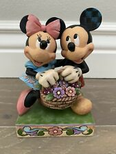 Disney Traditions by Jim Shore 4032589 Mickey & Minnie 'Love In Bloom' Figurine