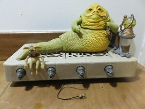 Star Wars Vintage Kenner ROTJ Jabba the Hutt Action Playset, 1983