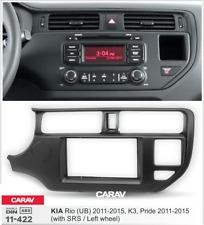 CARAV11-422 Car Radio Fascia Panel for KIA Rio(UB),K3,Pride(with SRS/Left wheel)