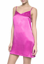 La Perla Dolce Collection XS 100% Silk Chemise Pink Classic Simple Elegant New