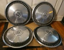 "Set of 4 OEM 1976-1991 Ford F150 Pickup Truck Cargo Van 15"" Hubcaps Wheel Covers"