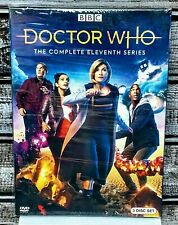 Doctor Who: Complete Eleventh Series Season 11 (3 Dvd discs) New! Free Shipping!