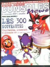 CONSOLES News H-S n°4 ; 300 nouveauté Dreamcast/ Nintendo 64/ Playstation/ Game